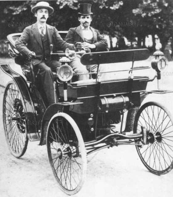Affidato a Cesped il trasporto dell'auto più antica d'Italia 2