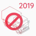 Calendario 2019 – Divieti di circolazione per mezzi pesanti