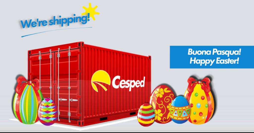 Spedisci anche la settimana di Pasqua con Cesped! 1